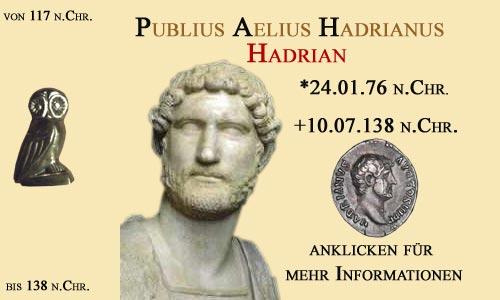 Publius Aelius Hadrianus (Hadrian)