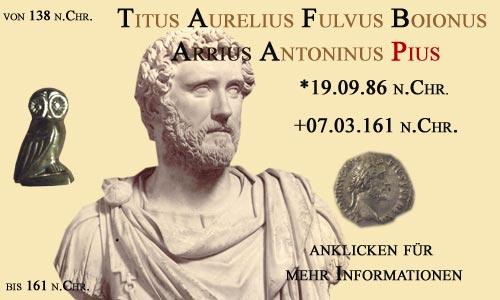 Kaiser Titus Aurelius Fulvus Boionus Arrius Antoninus (Pius)