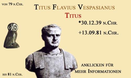 kaiser Titus Flavius Vespasianus (Titus)