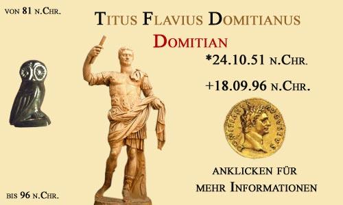 Kaiser Titus Flavius Domitianus (Domitian)
