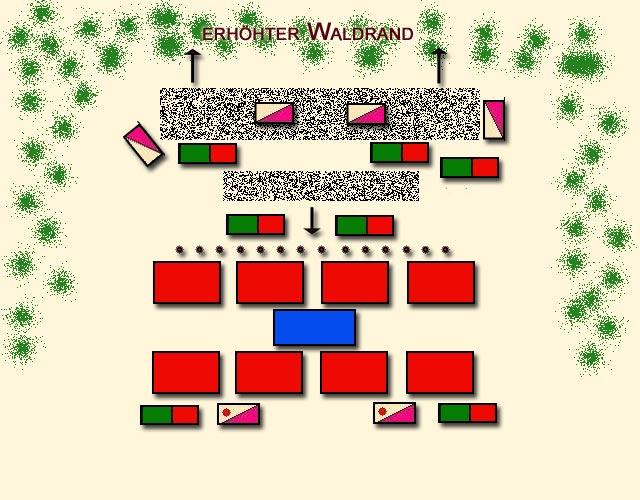 Germanicus Feldzug, Schlacht von Idistaviso ende