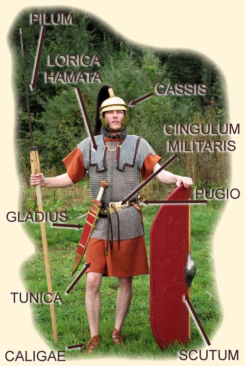 Ein Legionär aus dem frühen Kaiserreich