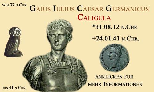 kaiser Gaius Iulius Caesar Germanicus Caligula