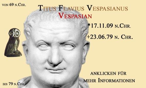 kaiser Titus Flavius Vespasianus (Vespasian)