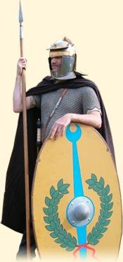 Schildbemalung der Cohors I Thracum